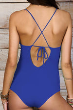 MAYLANA Emilie Electric One Piece-OrchidBoutique