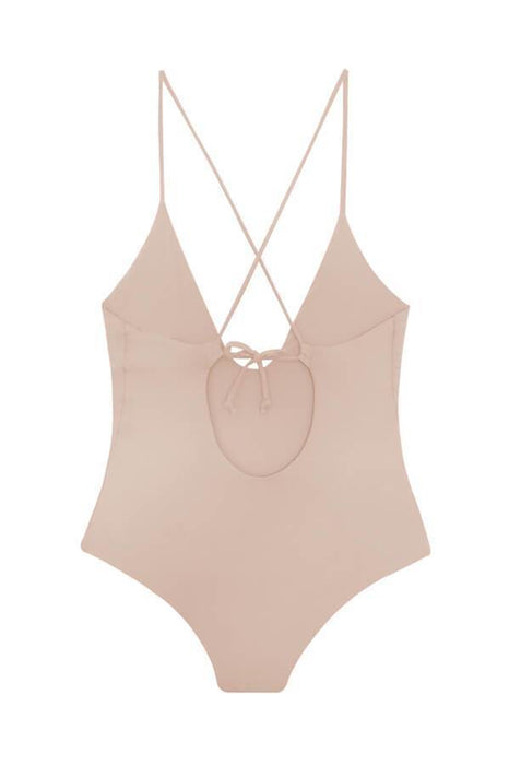MAYLANA Ezra Beige One Piece-OrchidBoutique