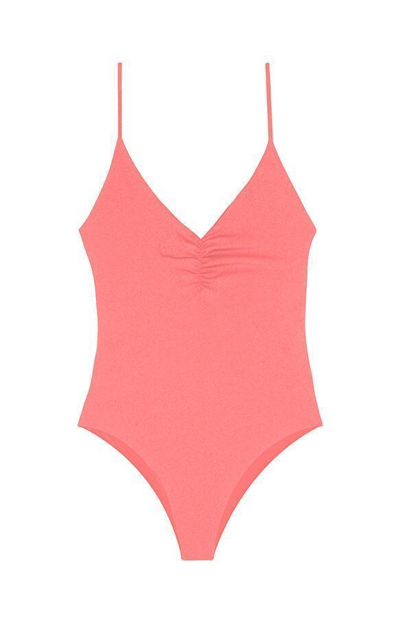MAYLANA Fefe Salmon One Piece - Size Extra Large