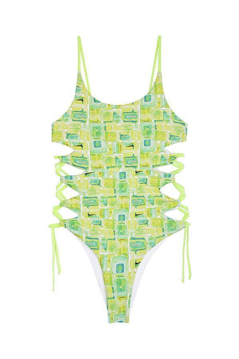 MAYLANA Giana Acid One Piece-OrchidBoutique
