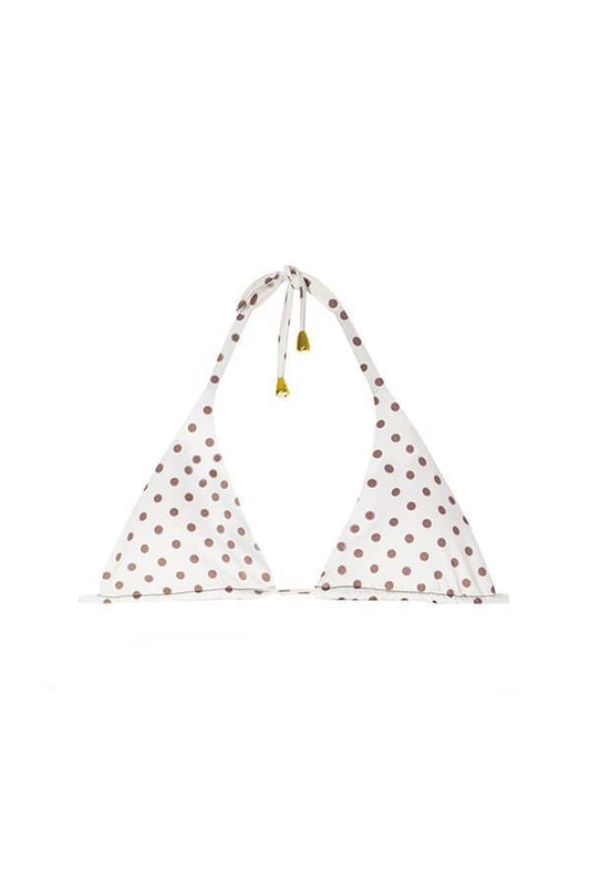 Maylana Women's dots triangle top