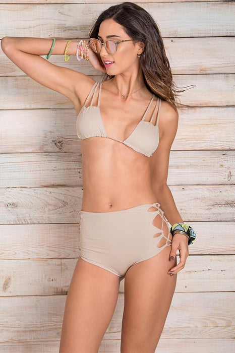 MAYLANA Imani Beige Top-OrchidBoutique