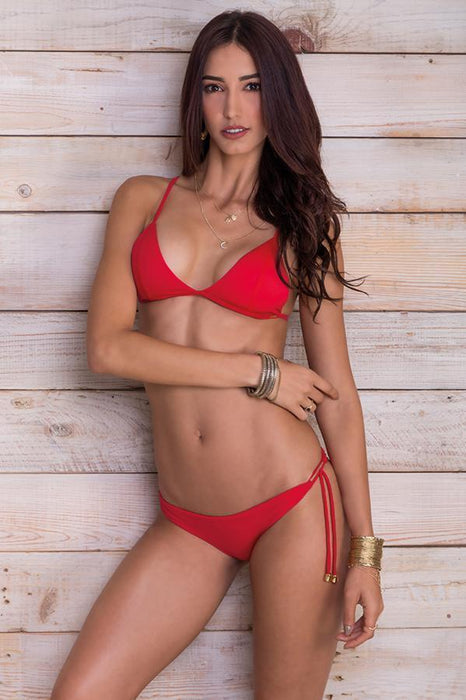 MAYLANA Kai Cherry Red Top