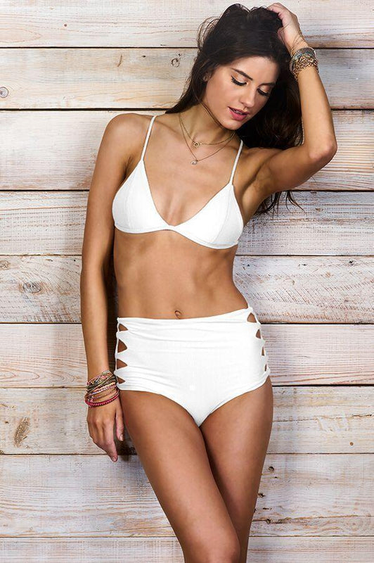MAYLANA Kai White Top - Size Medium-OrchidBoutique