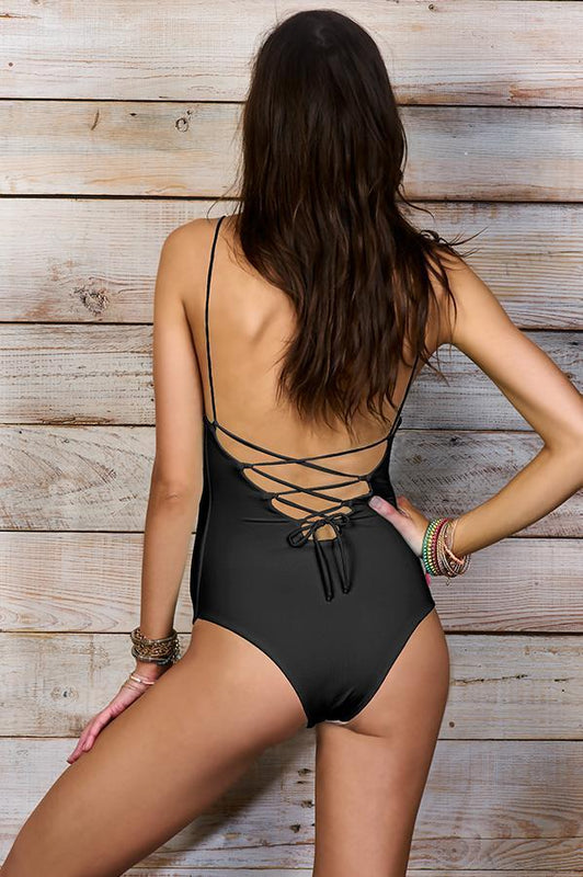 MAYLANA Kamila Black One Piece