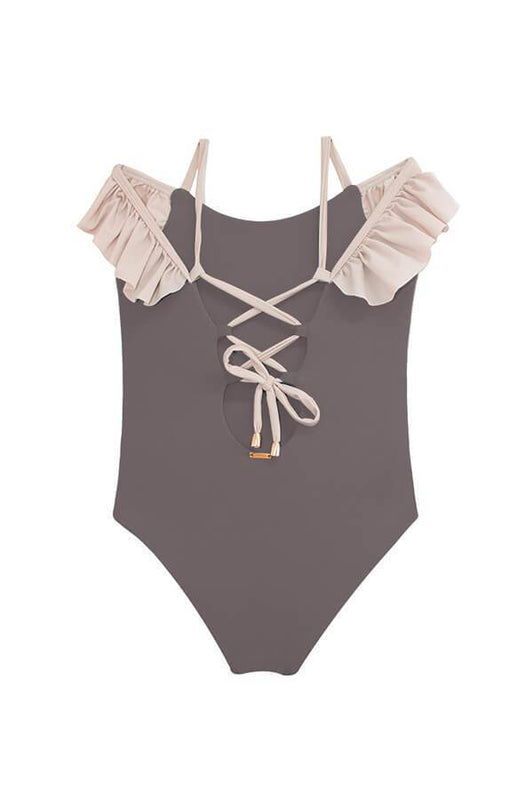 MAYLANA KIDS Maya Sand Beige One Piece