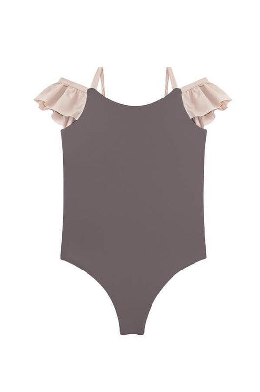 girl one piece swimsuit by Maylana Swimwear