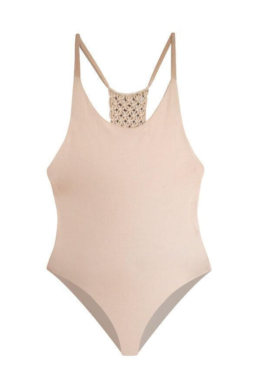 MAYLANA Leif Beige One Piece-OrchidBoutique