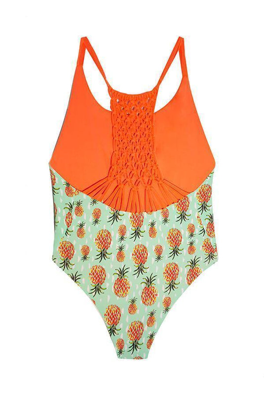 MAYLANA Leif Grapefruit One Piece-OrchidBoutique