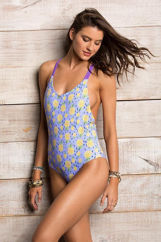 MAYLANA Leif Pineapple One Piece-OrchidBoutique