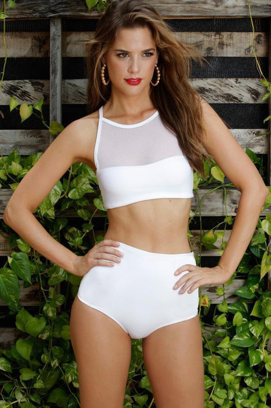 MAYLANA Lulu White Bottom-Size Small-OrchidBoutique