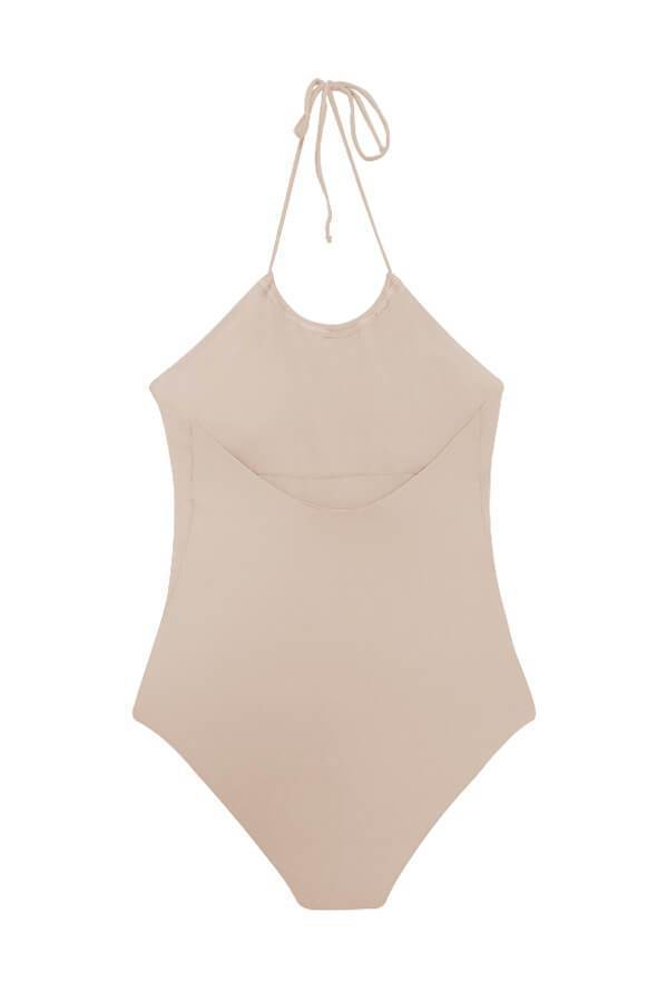MAYLANA Selena Beige One Piece-OrchidBoutique