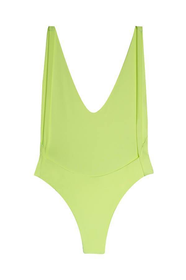 MAYLANA Skylar Lime One Piece-OrchidBoutique