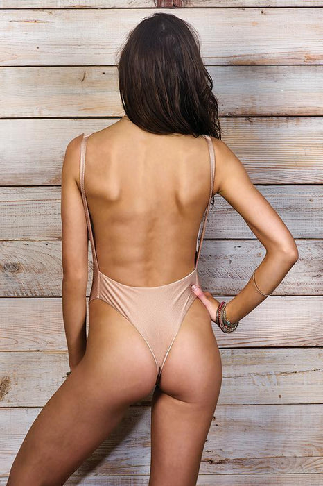 MAYLANA Skylar Nude One Piece-OrchidBoutique