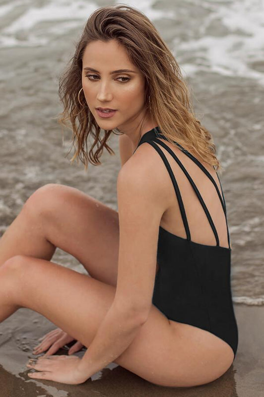 MAYLANA Steff Black One Piece