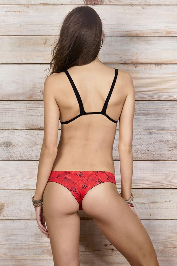 MAYLANA Teeny Red Poppies Bottom