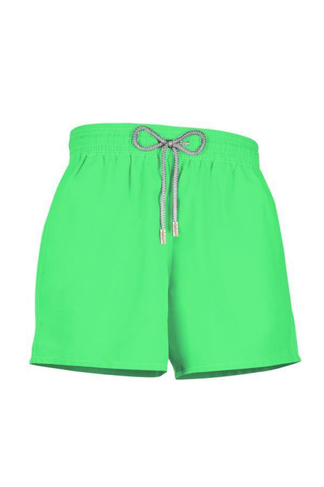 Neon Green Shorts-OrchidBoutique