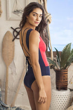 ONDADEMAR Cannoli Strappy One Piece