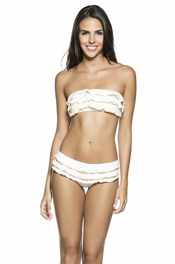 ONDADEMAR Every Day Ruffle Top - Size Small