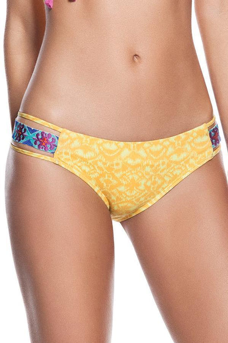 ONDADEMAR Limoncello Banded Bottom-OrchidBoutique