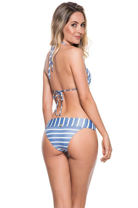 ONDADEMAR Milky Blue Banded Bottom-OrchidBoutique