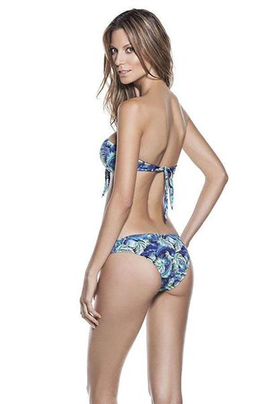 ONDADEMAR Night Shadow Bandeau Top - Size Medium-OrchidBoutique