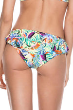 ONDADEMAR Passion Flower Ruffled Bottom