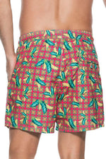 ONDADEMAR Red Jungle Sea Fit Men's Short