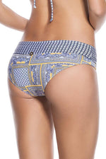 ONDADEMAR Zinnia Banded Bottom - Size Large-OrchidBoutique