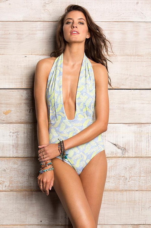 ORCHID LABEL Dani Palm D'or Monokini-OrchidBoutique