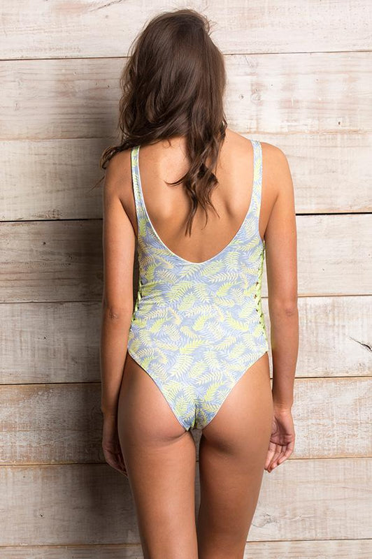 ORCHID LABEL Jess Palm D'or One Piece-OrchidBoutique