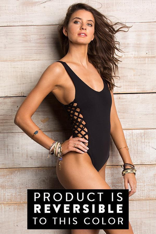 ORCHID LABEL Jess Stripes One Piece-OrchidBoutique