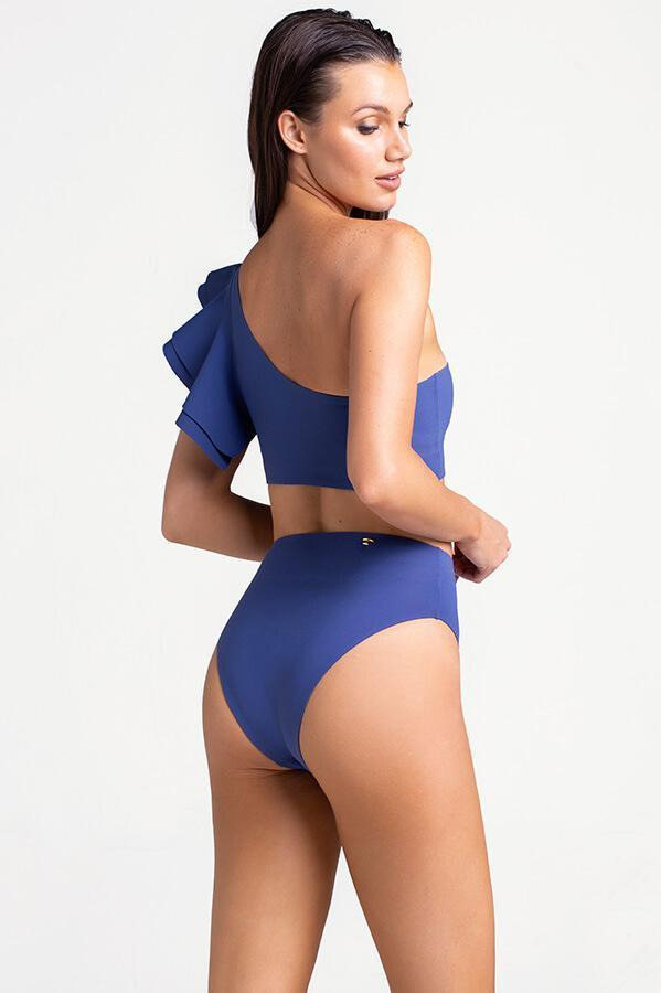TOUCHÉ Ink Blue High Waisted Bottom