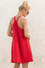 TOUCHÉ Literal Cerise Short Dress