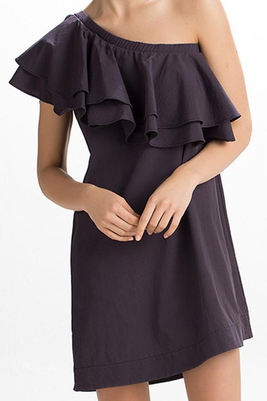 TOUCHÉ Multi Ruffle Dress