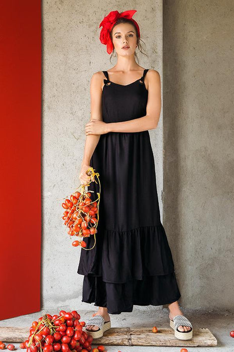 TOUCHE Owoc Long Dress