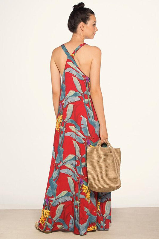 TOUCHE Peony Garden Maxi Dress