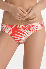 TOUCHÉ Red Tropique Bottom - Size Small-OrchidBoutique