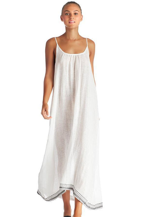VITAMIN A Baja Border Tulum Maxi Dress