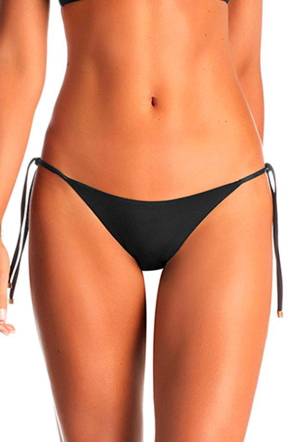 VITAMIN A Black Elle Tie Side Bottom-OrchidBoutique