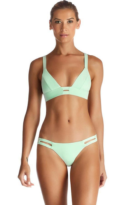 vitamin a bathing suit features bralette style with caged details at front and back