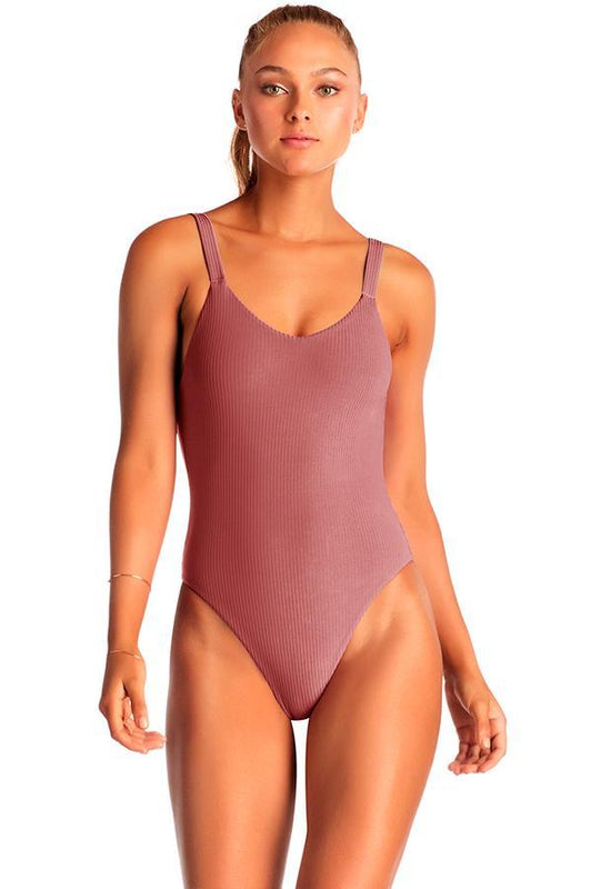 VITAMIN A Rose Leah One Piece