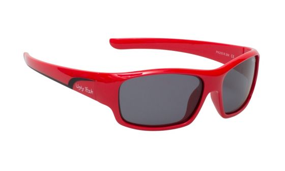 classic 255 red frame smoke lens 3-11yrs