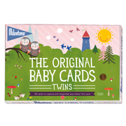 original baby photo cards twins by milestone™