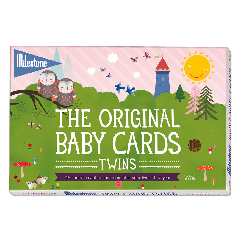 Original Baby Photo Cards (Twins) By Milestone™