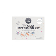soft clay impression kit white