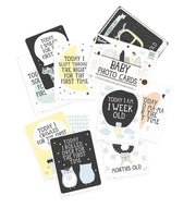 over the moon baby photo cards by milestone™