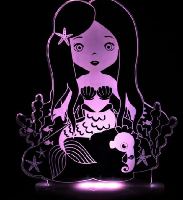 My Dream Light Mermaid