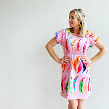 Gone Bananas pink Tee Dress