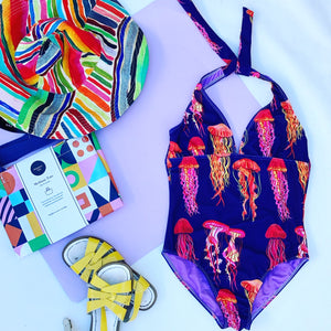 You Wish Jellyfish One Piece swimsuit